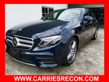2018 MERCEDES-BENZ E-CLASS E200 AMG NEW MODEL - 4 CAMERA/LOW MILEAGE - UNREG