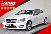 2012 MERCEDES-BENZ C-CLASS C180 1.8 AMG Coupe