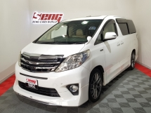 2010 TOYOTA ALPHARD 3.5 V6 ROYAL LOUNGE F/SPEC 4-SEATER