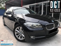 2013 BMW 5 SERIES 520I LCi TWINTURBO FACELIFT NEW MODEL PREMIUM SPEC ONE OWNER LOW MILEAGE TIPTOP CONDITION