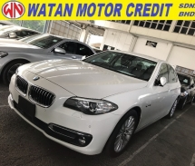 2016 BMW 5 SERIES 520i FACELIFT WITH LIGHTBAR LUXURY SPEC MEMORY LEATHER SEAT 2016 UNREG
