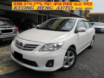 2012 TOYOTA ALTIS 1.8 DUAL VVTI TRUE YEAR MADE 2012 New Facelift Shiftronic