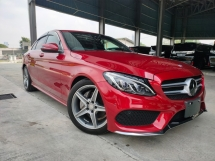 2016 MERCEDES-BENZ C-CLASS 2016 Mercedes C180 AMG W205 Demo Car Power Boot Head Up Display Full Leather Japan Spec Unregister for sale