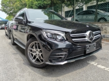 2016 MERCEDES-BENZ GLC 250 AMG 4MATIC BLACK FULL SPEC UNREG