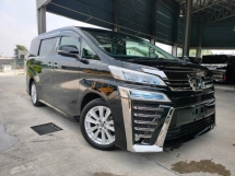 2018 TOYOTA VELLFIRE 2018 Toyota Vellfire 2.5 ZA Facelift Pre Crash LTA 7 Seater 2 Power Door Unregister for sale