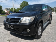 2013 TOYOTA HILUX 2.5 G VNT Pickup Truck NO OFF ROAD FACELIFT MODEL CANOPY