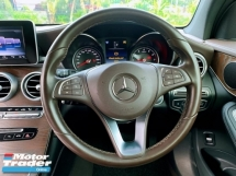 2017 MERCEDES-BENZ GLC  GLC200 LOCAL AMG FULL SPEC FULL SERVICE RECORD UNDER WARRATLY  DEMO CAR UNIT CONDITION