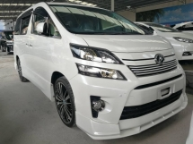 2014 TOYOTA VELLFIRE 2.4 Golden Eyes 2 (Bodykit Alpine Player)