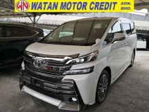 2016 TOYOTA VELLFIRE 2.5 ZG JBL 360 CAM SUNROOF JAPAN UNREG