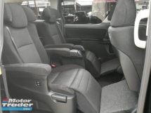 2012 TOYOTA VELLFIRE 2.4 ZG EDITION (A) SUNROOF PILOT SEATS P/BOOT 2-P/DOOR MPV
