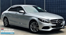 2016 MERCEDES-BENZ C-CLASS C180 AVANTGARDE 1.6L (A) + UNREGISTERED JAPAN PREMIUM SELECTION CAR + IRIDIUM SILVER COLOR