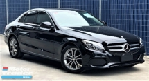 2016 MERCEDES-BENZ C-CLASS C200  AVANTGARDE 2.0L + UNREGISTERED PREMIUM JAPAN SPECS  +  BETTER EXPERIENCE THAN EXPLAINED