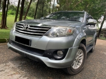 2014 TOYOTA FORTUNER 2.7V TRD SPORTIVO (A) TIP TOP SUV KING