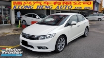 2013 HONDA CIVIC 2.0S NAVI I-VTEC (A) REG 2013, ONE OWNER, FULL SERVICE RECORD, LOW MILEAGE DONE 111K KM, 100% ACCIDENT FREE, 17