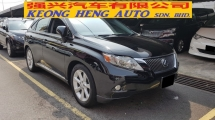 2010 LEXUS RX350 RX350 3.5cc V6 (A) REG 2013, CAREFUL OWNER, 100% ACCIDENT FREE, HIGH SPEC, POWER BOOT, SUNROOF, REVERSE CAMERA, 18