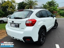 2016 SUBARU XV PREMIUM  FULL SPEC 1 LADY OWNER ORI PAINT TIPTOP CONDITION