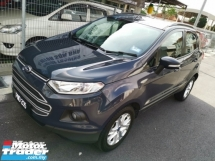 2014 FORD ECOSPORT 1.5(A) Sport - Record Servis Penuh