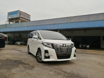 2015 TOYOTA ALPHARD 2.5 S EDITION JBL HOME TREATHE UNREGISTERED LOCAL AP
