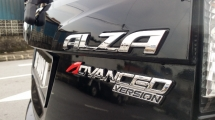 2016 PERODUA ALZA  Perodua Alza 1.5 Advanced (A) Produa Warranty until 2012