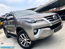2017 TOYOTA FORTUNER 2.7 SRZ 4x4 (A) FULL SERVICE UNDER WARRANTY