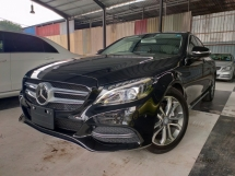 2015 MERCEDES-BENZ C-CLASS 2015 Mercedes C180 Avantgarde Keyless Pre Crash LKA Blind Spot Unregister for sale