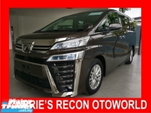 2018 TOYOTA VELLFIRE 2.5 Z WITH 2 PD/DIGITAL INNER MIRROR/NEW FACELIFT - UNREG