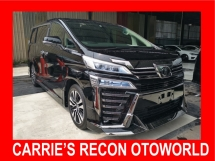 2018 TOYOTA VELLFIRE 3.5 ZG (FULL SPEC) 4 CAMERA, MODELISTA, JBL HOME THEATER, PRECRASH - UNREG JAPAN