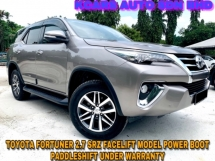 2018 TOYOTA FORTUNER 2.7 SRZ POWERBOOT PADDLESHIFT UNDER WARRANTY