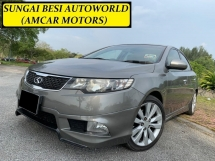 2012 KIA FORTE 1.6 SX (A) P/SHIFT KEYLESS B/KIT FULOAN