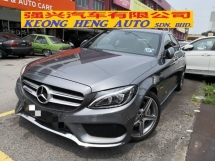 2018 MERCEDES-BENZ C-CLASS C200 AMG LIne 9G Speeds CKD TRUE YEAR MADE 2018 Mil 14000 km only FREE SERVICE WARRANTY TO JUNE 2022