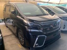2015 TOYOTA VELLFIRE 2.5ZG PILOT SEAT ALPINE FULL SYSTEM PRECRASH WARNING UNREG CHEPEST IN TOWN OFFER NEGO