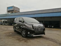 2015 TOYOTA ALPHARD 2.5 G EDITION POWER BOOT PRE CRASH UNREGISTERED LOCAL AP