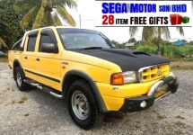 2001 FORD RANGER SPLASH 4WD 2.5 (MANUAL) SONY FRONT REAR CAMERA / TIP-TOP CONDITION / CASH BUYER