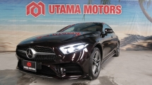 2018 MERCEDES-BENZ CLS-CLASS 450 AMG PREMIUM 4MATIC SUNROOF BURMESTER PREMIUM SOUND SURROUND CAMERA MERDEKA SALE