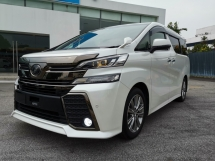2017 TOYOTA VELLFIRE 2.5 ZA Golden Eyes SR Pre Crash PB Unreg Sale Offer