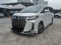 2018 TOYOTA ALPHARD 3.5 Executive Lounge FULL SPEC SUNROOF/JBL/SURROUND CAM/PRE CRASH UNREG