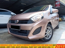 2015 PERODUA AXIA  1.0 G (A) TIP TOP LIKE NEW CAR