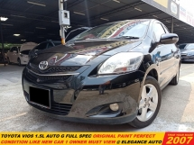 2007 TOYOTA VIOS 1.5 G FACELIFT (A)TIPTOP LIKE NEW