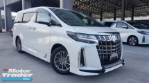 2018 TOYOTA ALPHARD 2018 Toyota Alphard 3.5 Executive Lounge S Full Spec Sun Roof JBL Home Theatre Sound System 4 Camera Full Leather Unregister for sale
