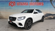 2018 MERCEDES-BENZ GLC 43 AMG PREMIUM 4MATIC SUNROOF SURROUND CAMERA MERDEKA SALE