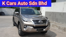 2018 TOYOTA FORTUNER 2.7 SRZ 4x4 Facelift Low 37k Km Mileage 5 Years Warranty Until 2022 Full Service By UMW Toyota Worth Buy