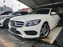 2016 MERCEDES-BENZ C-CLASS 2016 Mercedes C180 AMG W205 Full Leather Pre Crash Blind Spot LKA Unregister for sale
