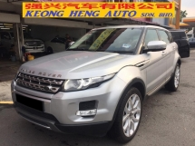 2012 LAND ROVER RANGE ROVER Evoque 2.2 (A) CBU Registered 2013