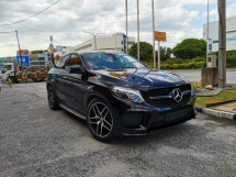 2016 MERCEDES-BENZ GLE HIGHEST GRADE CAR. GENUINE MILEAGE. GLE450 AMG COUPE FULL OPTION SPEC. GLE 450 GLE43 GLE 43
