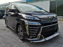 2018 TOYOTA VELLFIRE 3.5 ZG JBL 360 Camera DIM SR PB Unreg Sale Offer