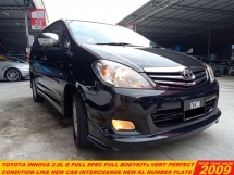 2009 TOYOTA INNOVA 2.0 G FACELIFT (A) LIKE NEW CAR