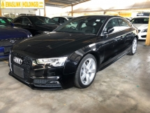 2014 AUDI A5 S Line Sport Back 2.0 Turbocharged MMi 3 Sun Roof Push Start Button Auto Power Bucket Seats Multi Function Paddle Shift Steering Climate Zone Control Bluetooth Connectivity Unreg