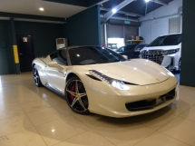 2012 FERRARI 458 ITALIA 2012 {ACTUAL YEAR MADE} Ferrari 458 Italia GENUINE LOW MILEAGE* TIPTOP CONDITION. JUST BUY AND USE