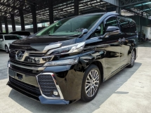 2016 TOYOTA VELLFIRE 2.5ZG Edition Pre Crash Roof Monitor PB Unreg Sale Offer