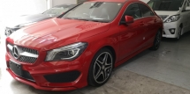 2014 MERCEDES-BENZ CLA 180 1.6 AMG / READY STOCK NO NEED WAIT / 4 YEARS WARRANTY UNLIMITED KM